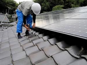 太陽光発電の工事工程