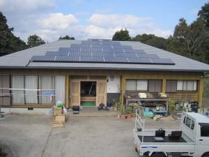 長崎県松浦市 W様邸 太陽光発電設置