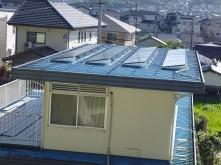 長崎県佐世保市 S様邸 陸屋根用太陽光発電設置