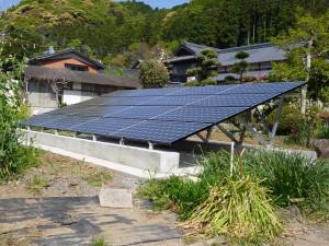 佐賀県嬉野市 K様邸 太陽光発電設置