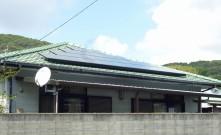 長崎県鹿町町 M様邸 太陽光発電設置